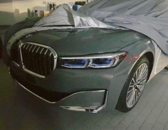 2020 BMW 7 Series Leak