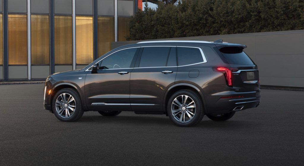 2020 Cadillac XT6 three-row crossover debuts in Detroit ...
