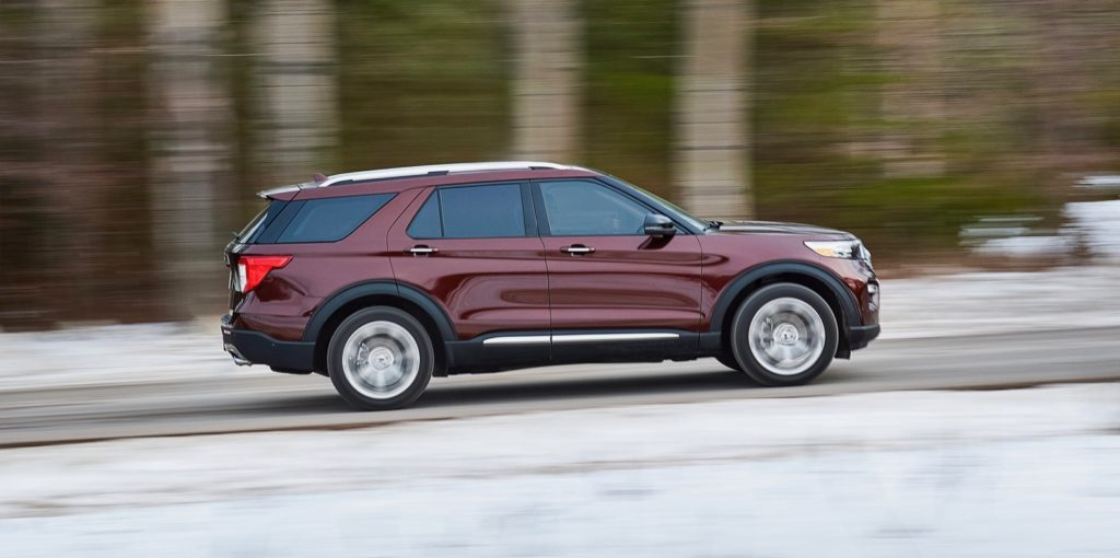2020 Ford Explorer Moves To A Rwd Platform And Packs Up To 365 Hp