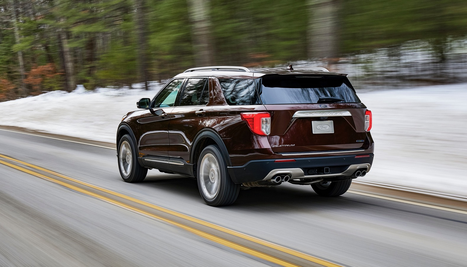 2020 Ford Explorer Moves To A Rwd Platform And Packs Up To