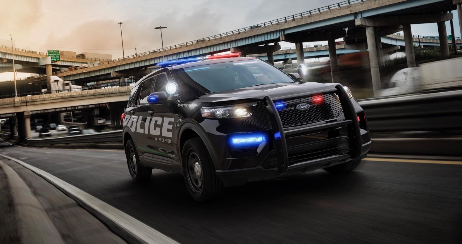 2020 Ford Police Interceptor Utility previews the next Explorer   The Torque Report