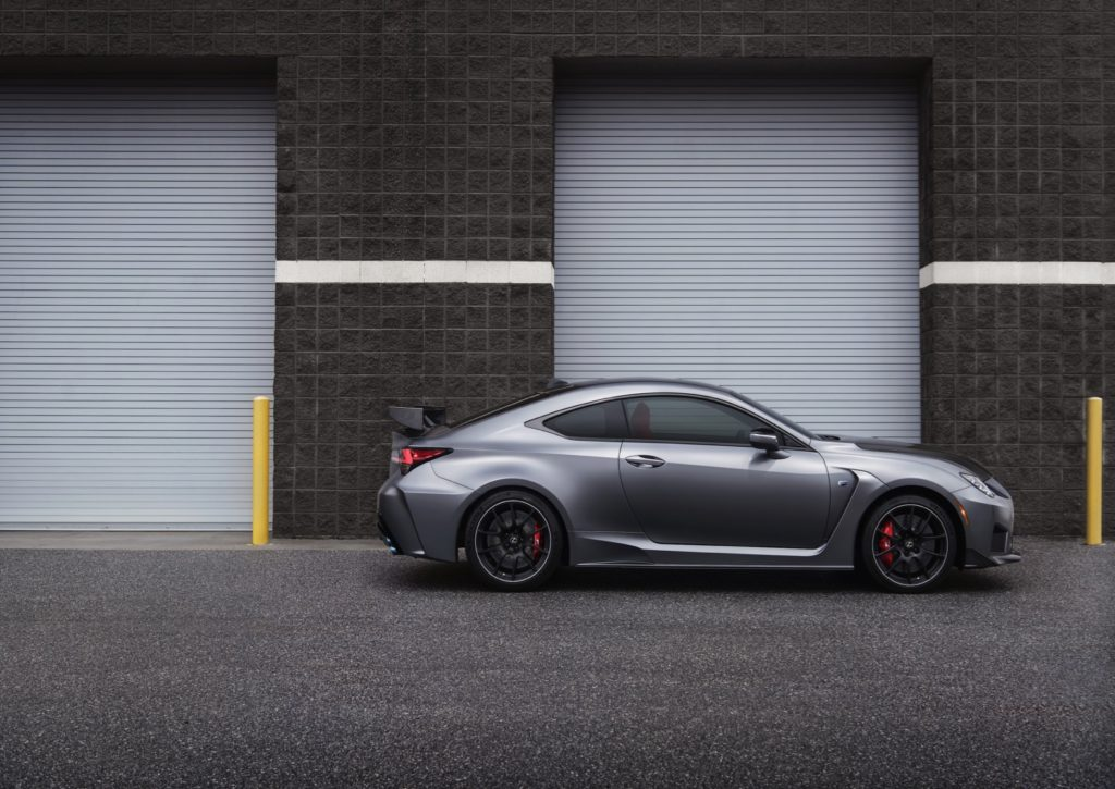 2020 Lexus Rc F Track Edition Drops Some Pounds Reaches