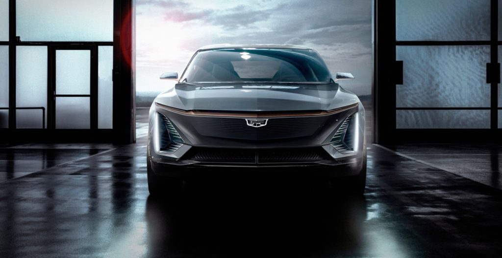 Cadillac electric crossover