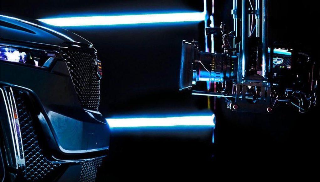 Cadillac XT6 teaser