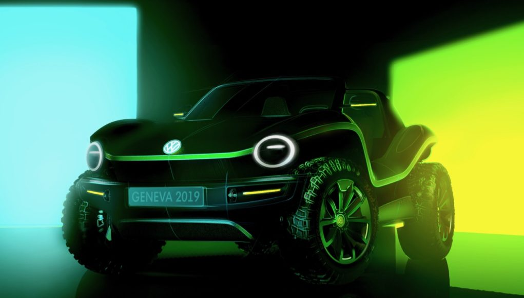 Electric VW Dune Buggy Concept