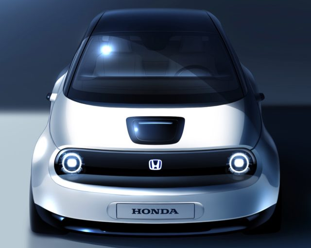 Honda electric car Europe