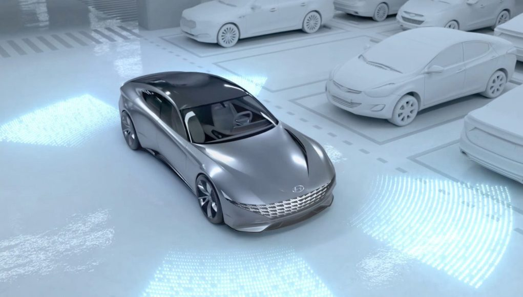 Hyundai and Kia Automated Valet Parking System