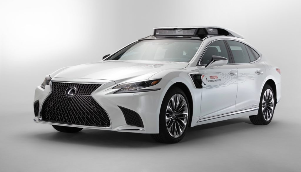 Lexus LS 500h P4 Automated Driving Test Vehicle