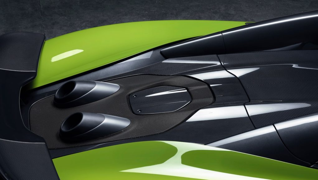 McLaren fifth Longtail teaser