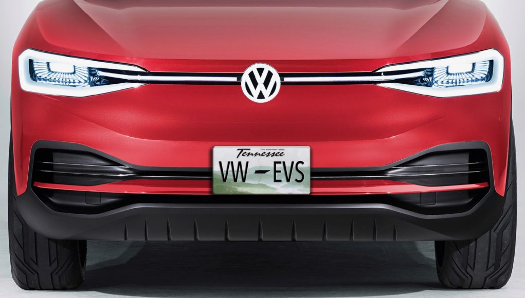 VW I.D. Crozz production teaser