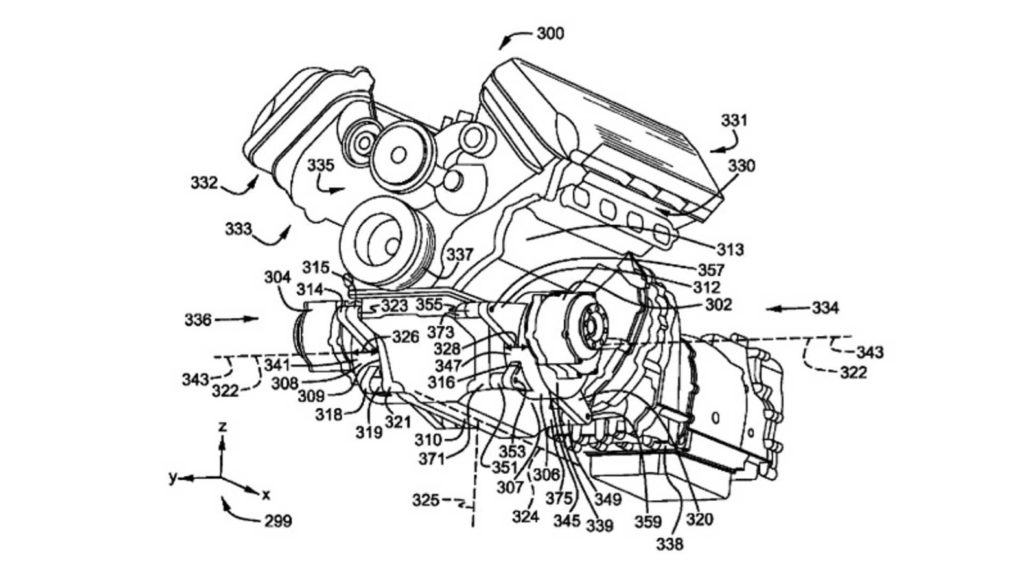 Ford Mustang Hybrid patent