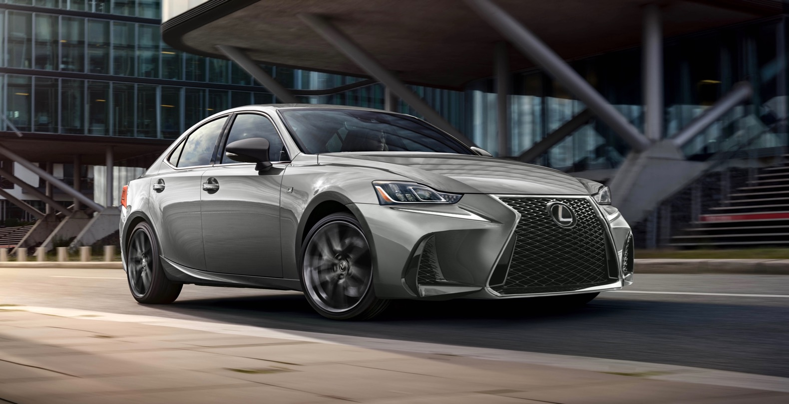 2019 lexus is 300 f sport black line special edition is quite limited