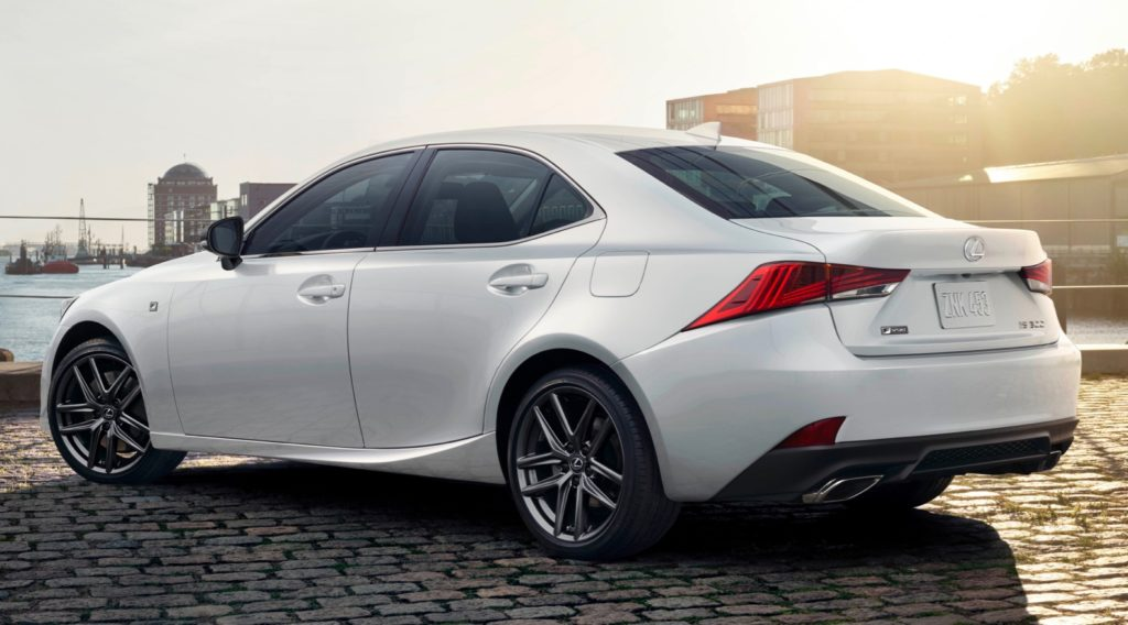 2019 Lexus IS 300 F Sport Black Line Special Edition