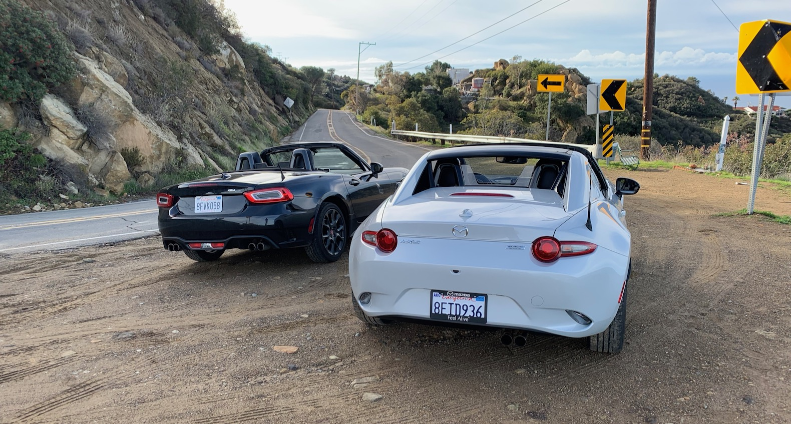 2019 Mazda Mx 5 Miata Vs 2018 Fiat 124 Spider Abarth Battle