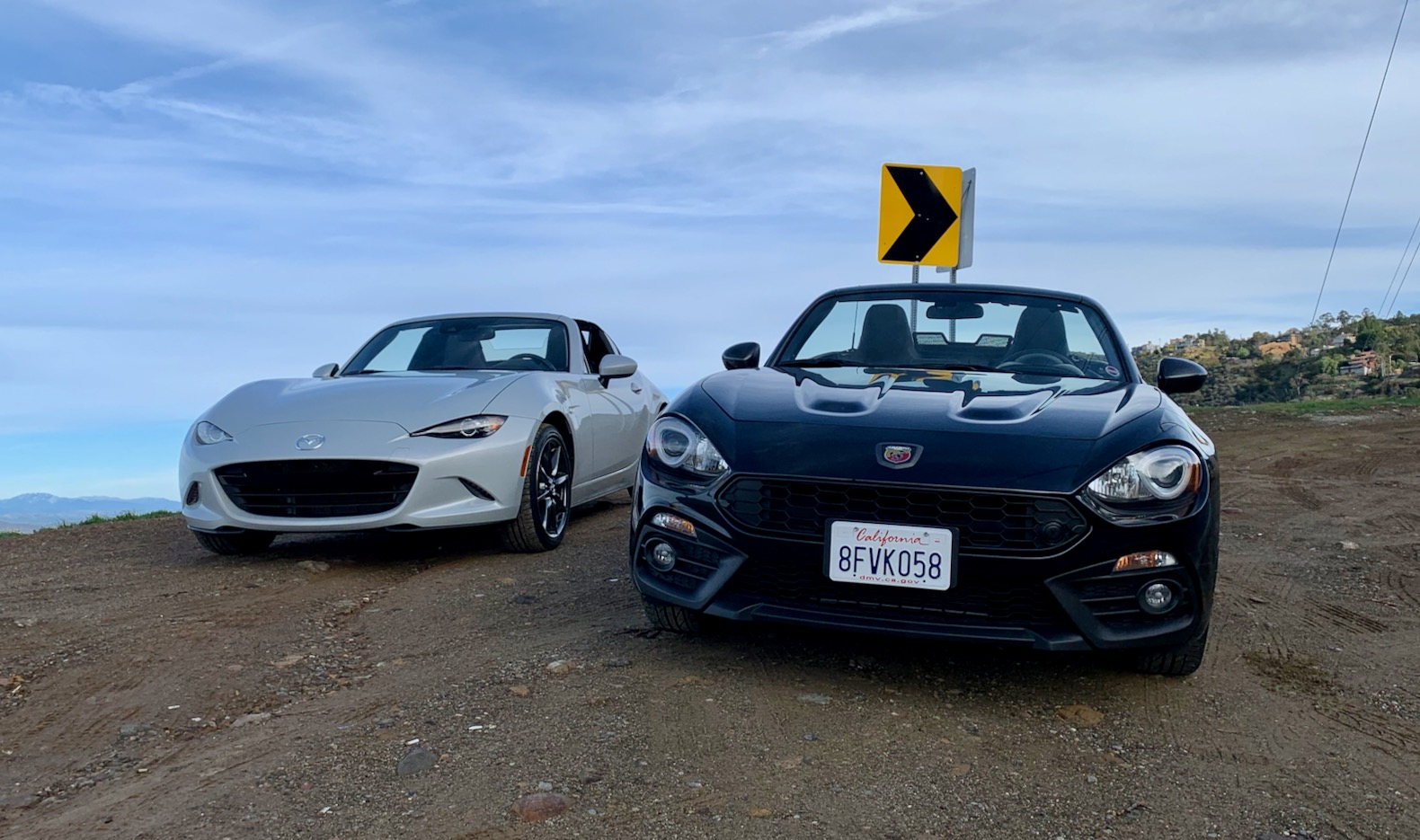 2019 Mazda Mx 5 Miata Vs 2018 Fiat 124 Spider Abarth Battle Of The Roadsters
