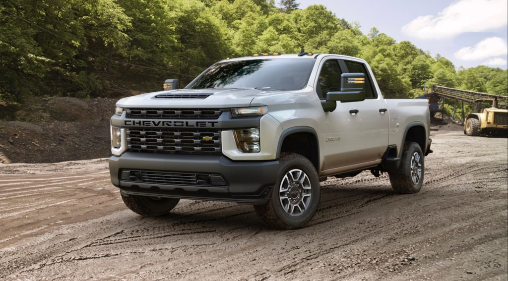 2020 Chevy Silverado HD can tow up to 35,500 lbs and gets ...