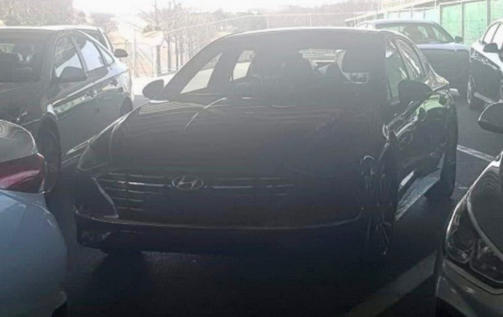 2020 Hyundai Sonata Leaked Photos