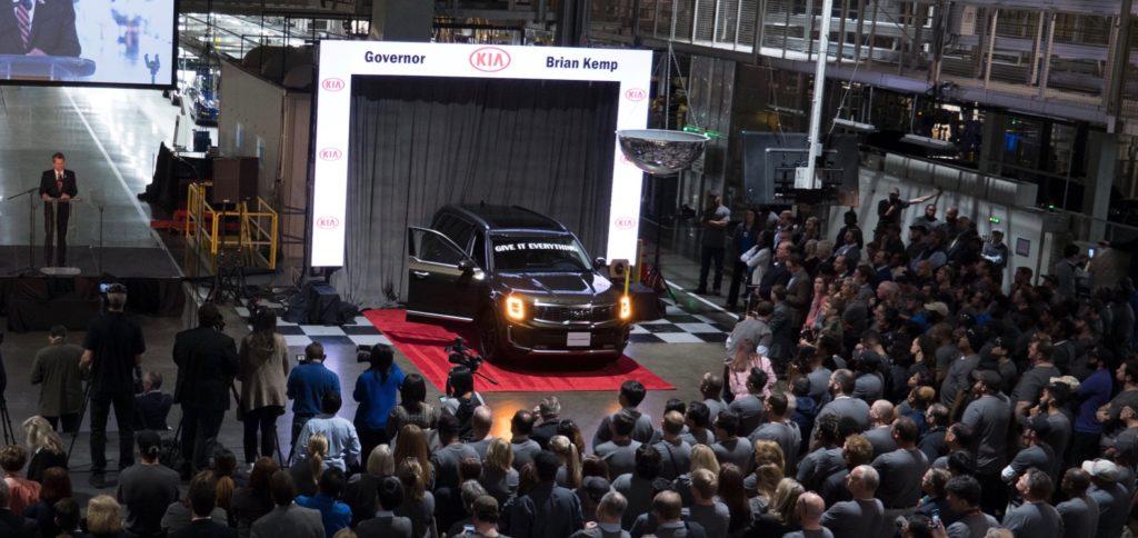 2020 Kia Telluride Production