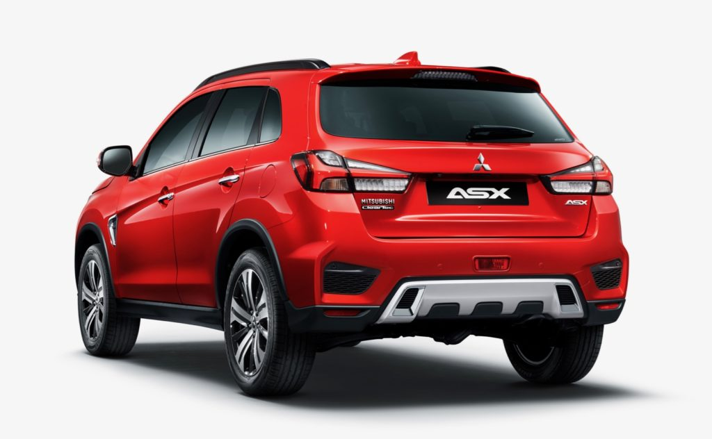 2020 mitsubishi outlander sport previewed with new asx