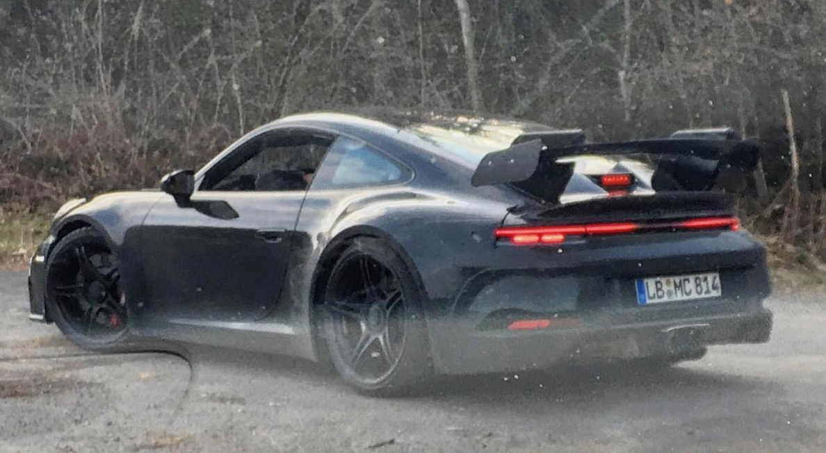 2020 Porsche 911 GT3 RS caught by Instagram user | The ...