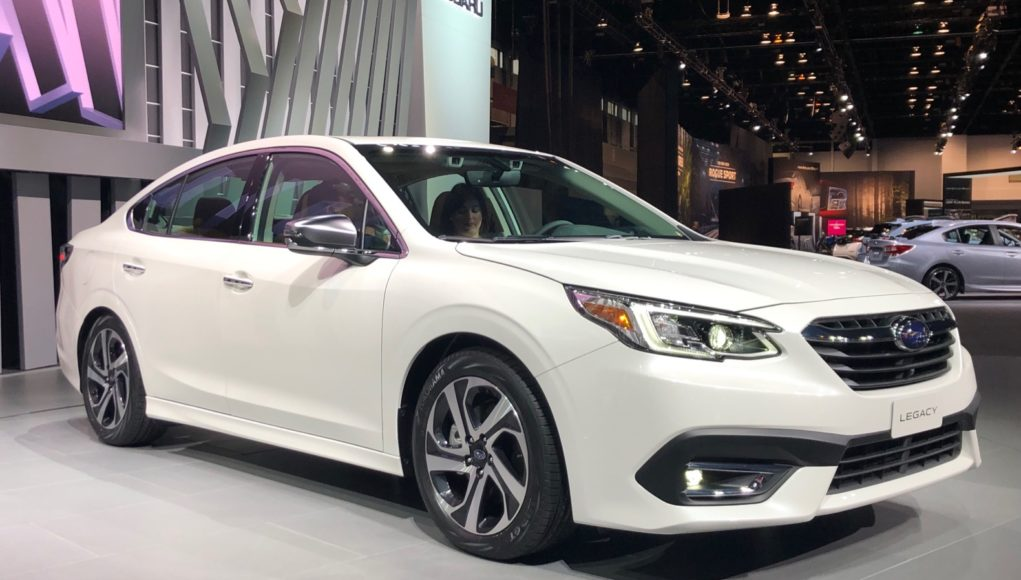 2020 Subaru Legacy debuts at the Chicago Auto Show | The ...