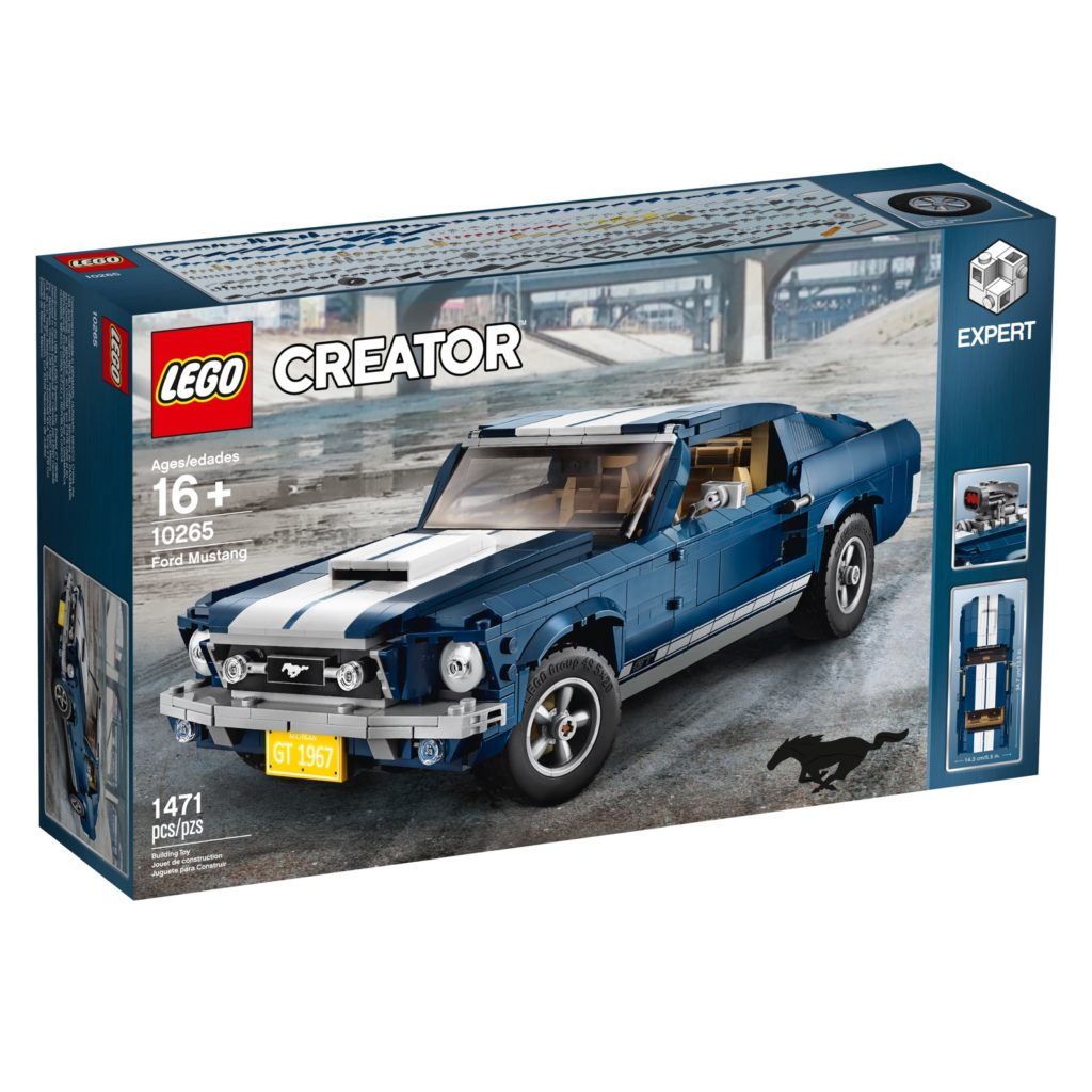 Lego Creator Expert Ford Mustang
