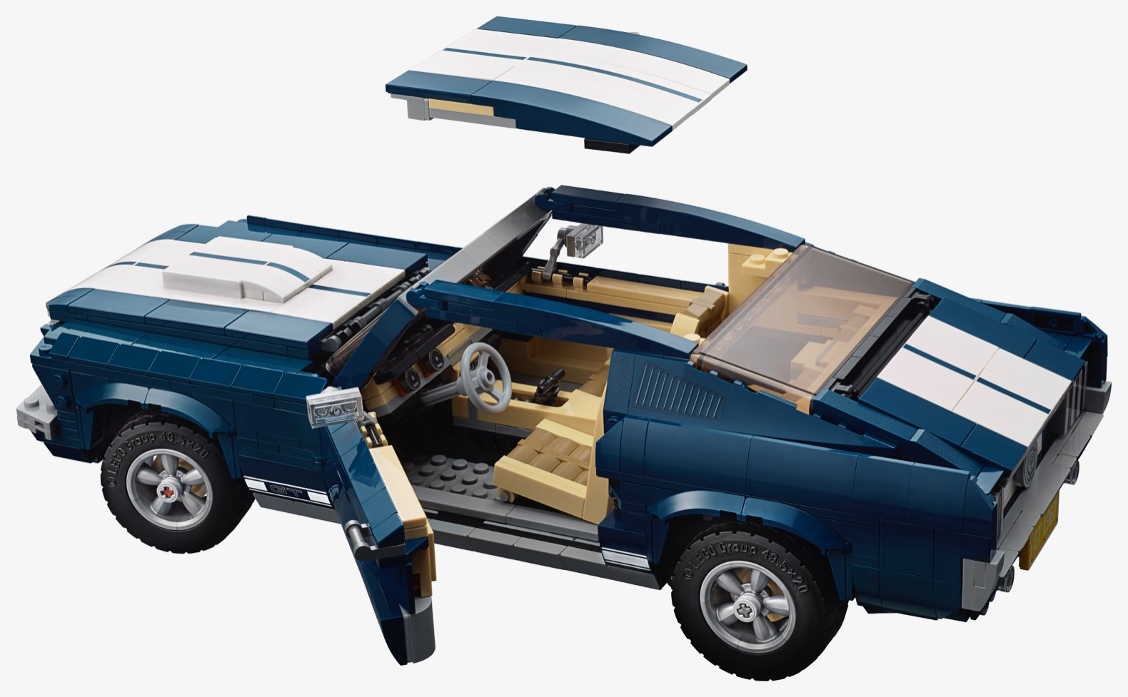 lego 39 s replica of a 1960s ford mustang is perfect the. Black Bedroom Furniture Sets. Home Design Ideas