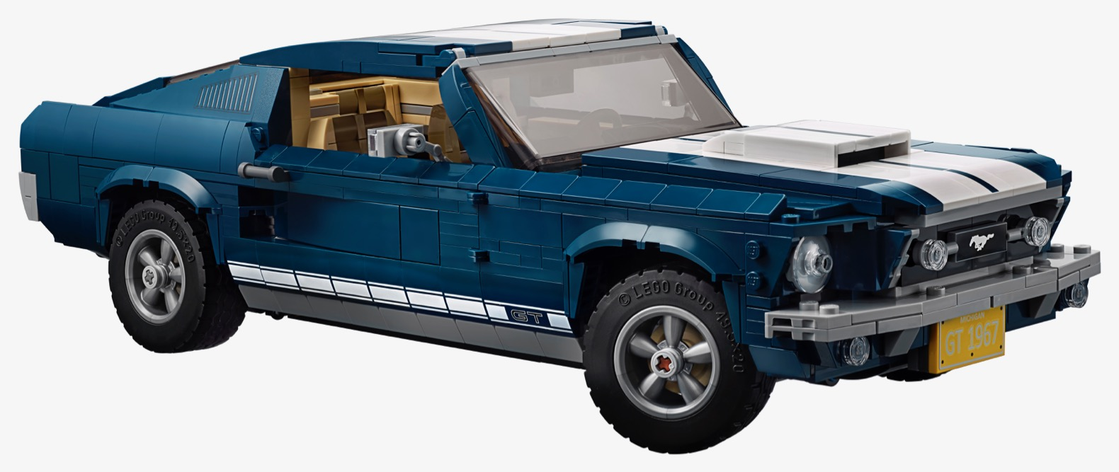 lego 39 s replica of a 1960s ford mustang is perfect the torque report. Black Bedroom Furniture Sets. Home Design Ideas