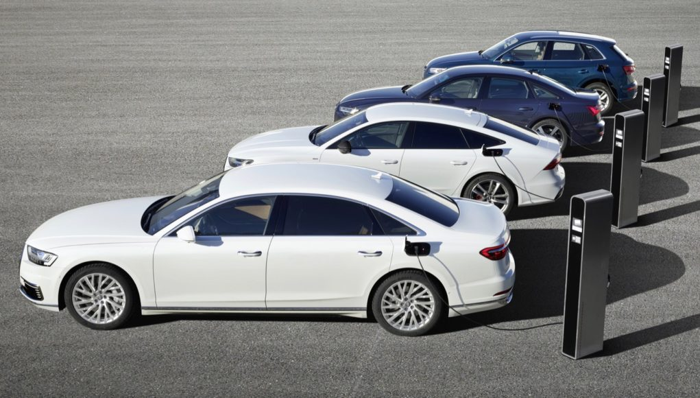 Audi Q5, A6, A7 and A8 plug-in hybrids