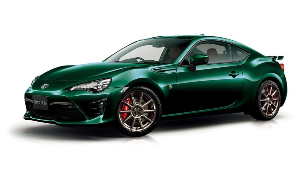 Toyota 86 British Racing Green Limited