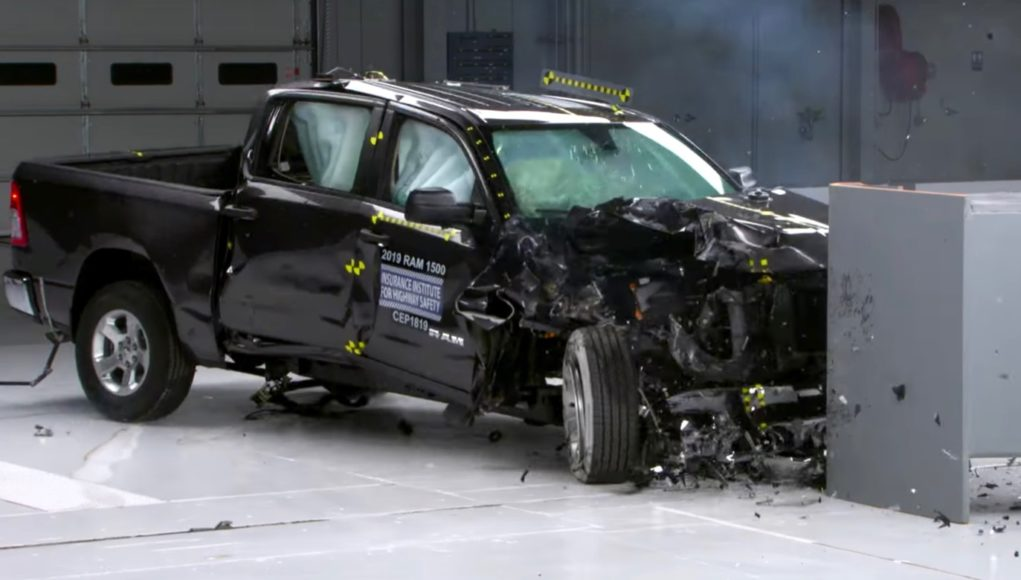 IIHS Passenger Side Crash Test