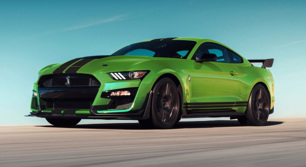 ford mustang      grabber lime  torque report