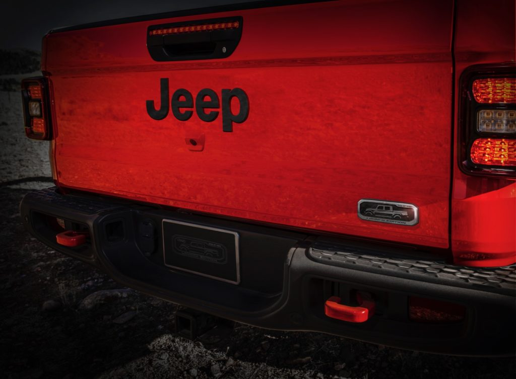 2020 Jeep Gladiator Launch Edition