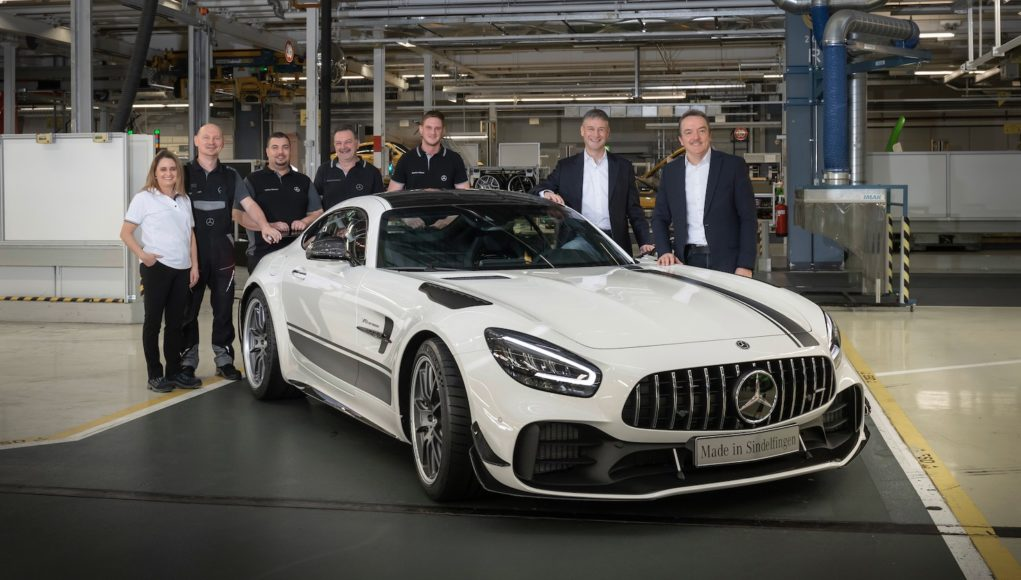 2020 Mercedes-AMG GT Production