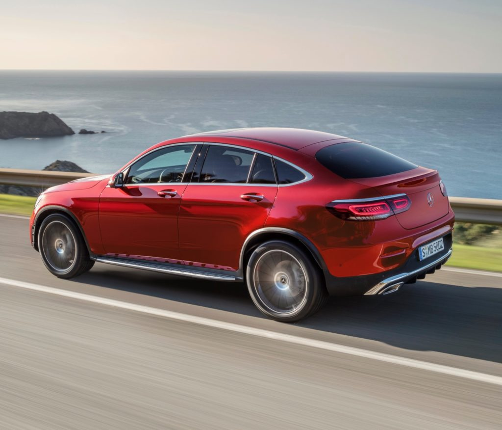 2019 Mercedes Benz Glc Coupe Camshaft: 2020 Mercedes-Benz GLC Coupe Revealed Ahead Of Its Debut