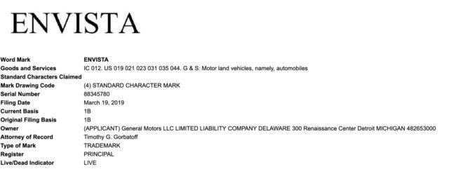 Envista Trademark