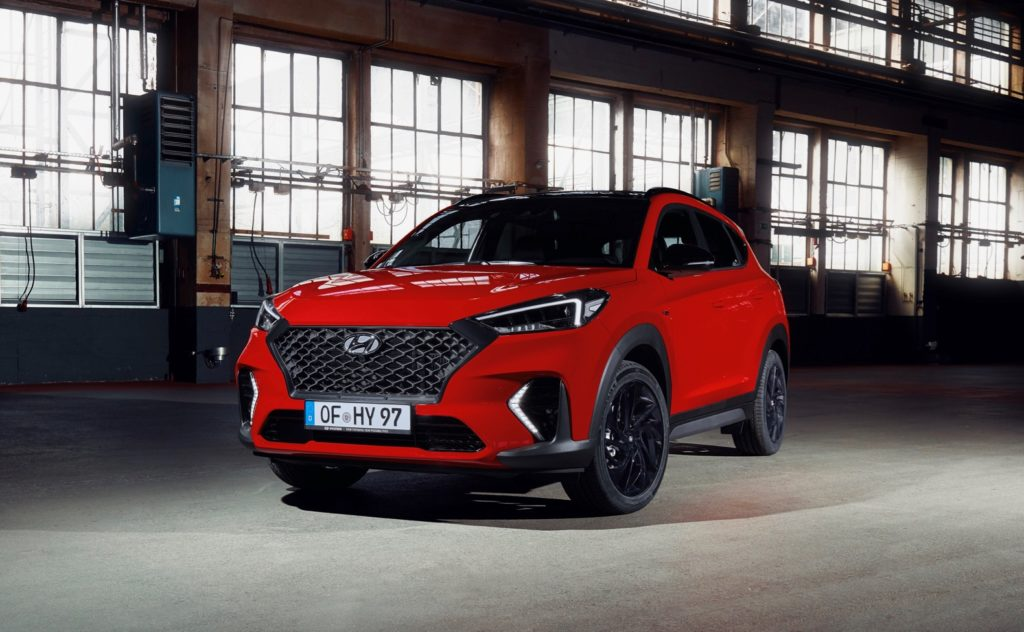 hyundai tucson n line adds a sportier touch the torque. Black Bedroom Furniture Sets. Home Design Ideas