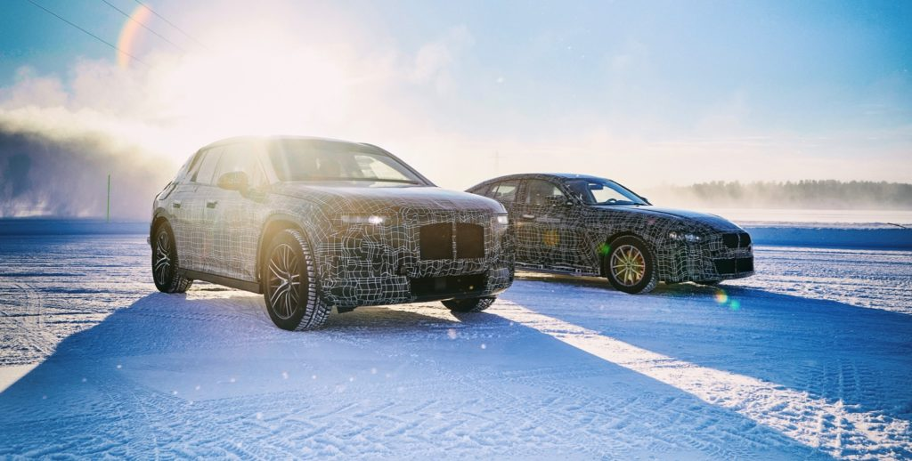 BMW iNext and i4 teaser