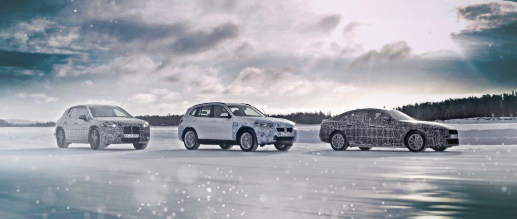 BMW iNext, iX3 and i4