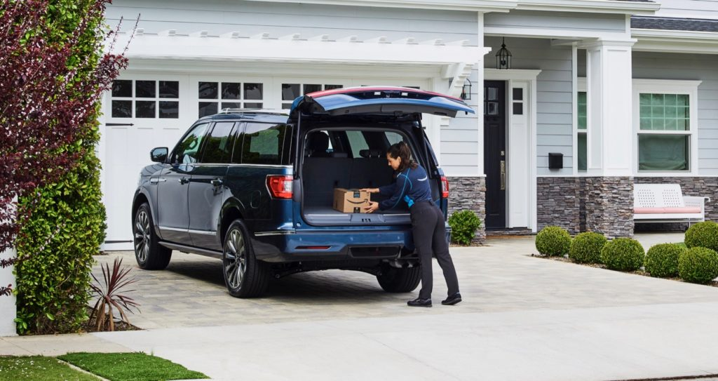 Key by Amazon In-Car Delivery Service