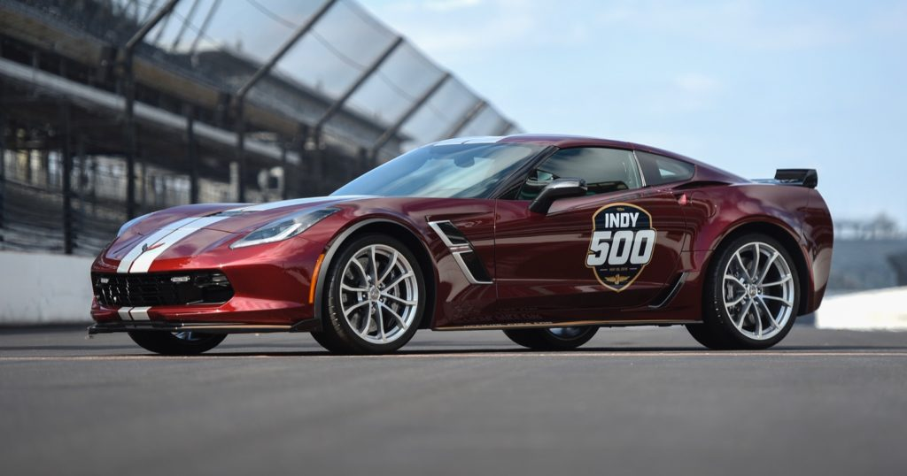 2019 Chevy Corvette Grand Sport Pace Car
