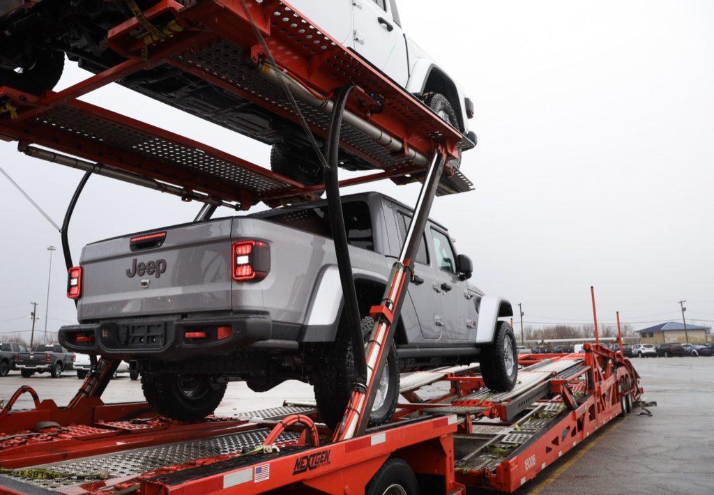 2020 Jeep Gladiator Shipment
