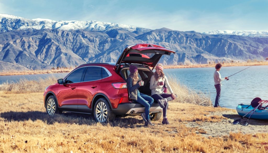 2020 Ford Escape Debuts With Two Hybrid Options The