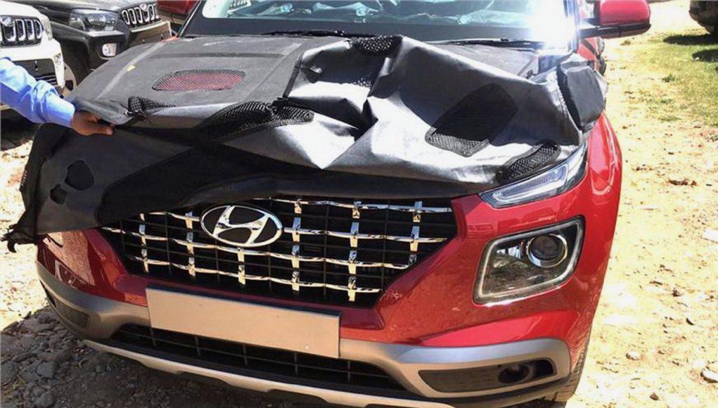 2020 Hyundai Venue leak