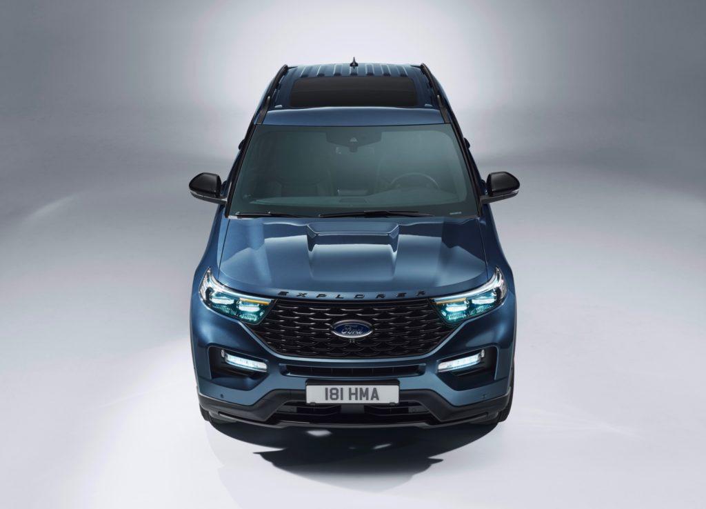 ford explorer plug  hybrid debuts  europe  torque report