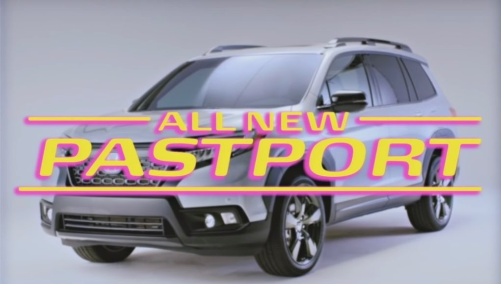 Honda Pastport