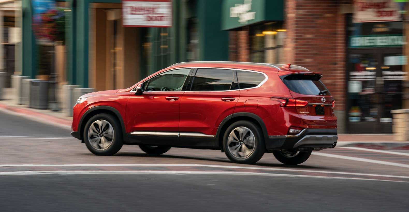 For Starters The Last Generation Santa Fe Sport Is Now Simply Called This Time Around Three Row Sticking One More