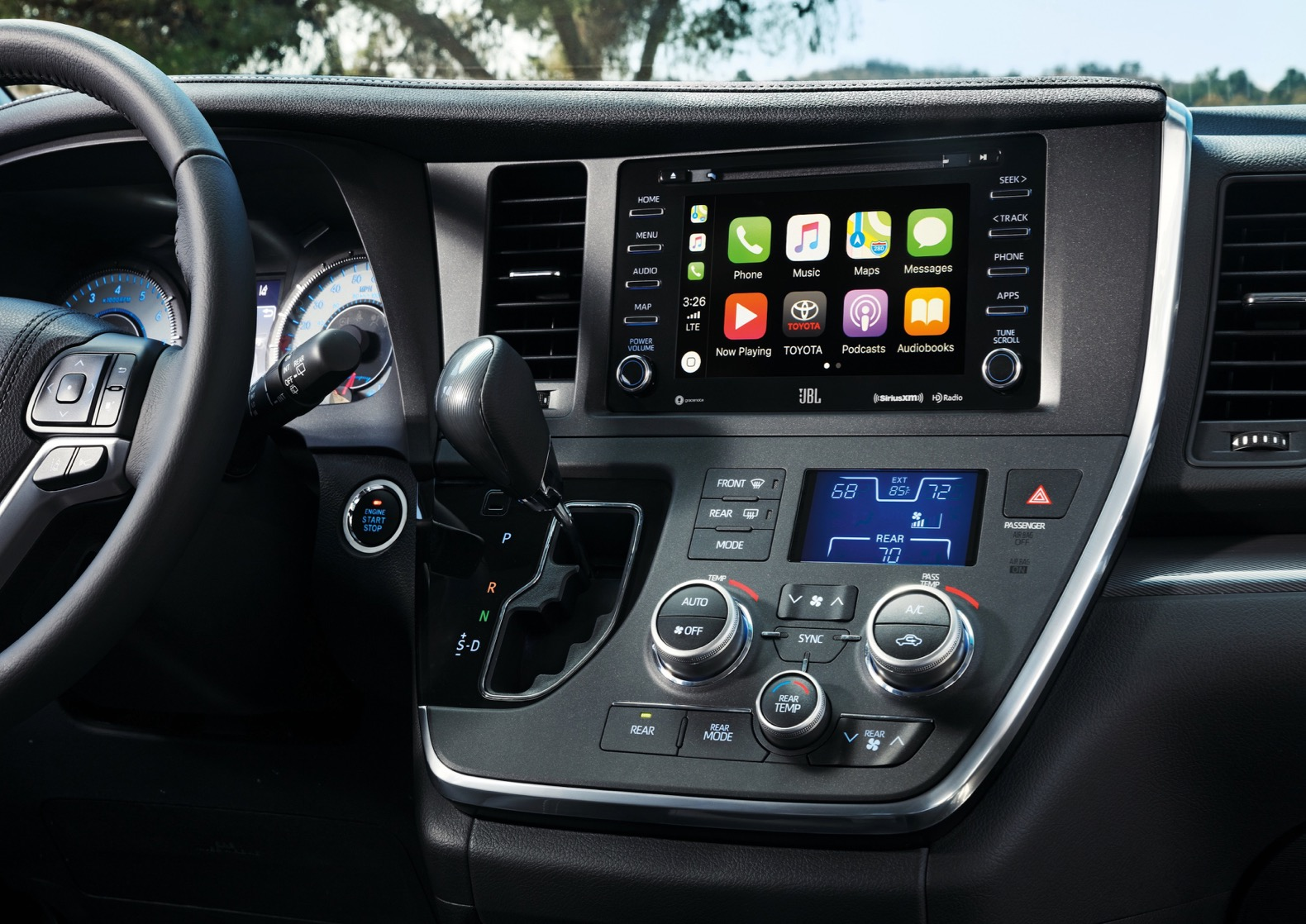 View 2020 Toyota Sienna Interior Pictures