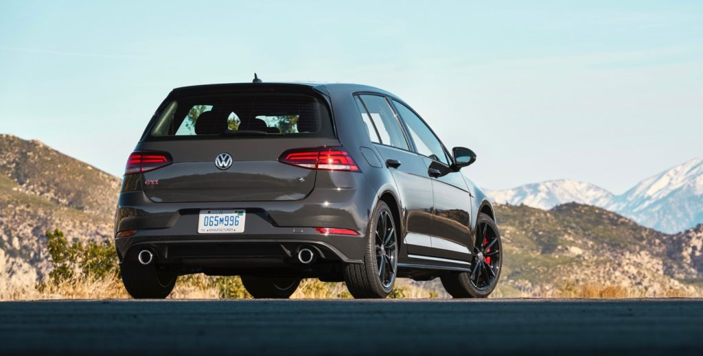 2019 VW GTI IIHS Top Safety Pick