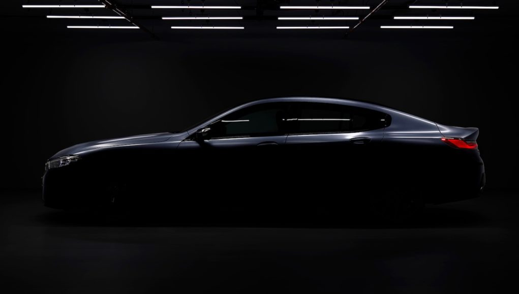2020 BMW 8 Series Gran Coupe Teaser